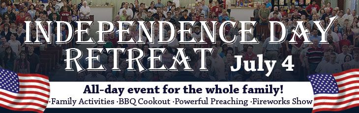 Independence Day Retreat - July 4, 2016