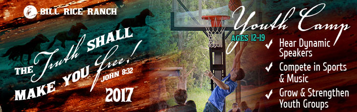 Youth Camp Weeks - Ages 12-19