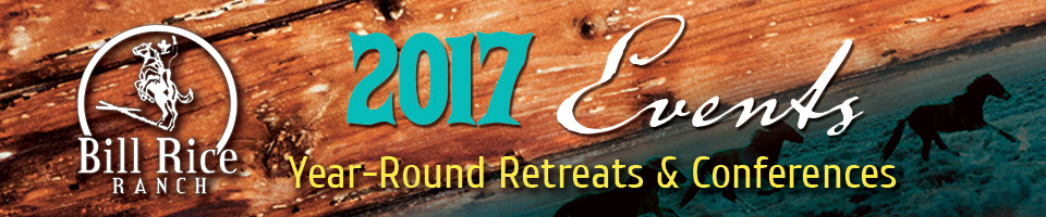 2017 Ranch Events and Retreats