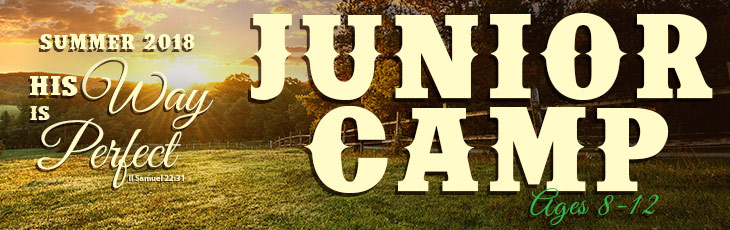 Summer Camps for Juniors - Ages 8-12
