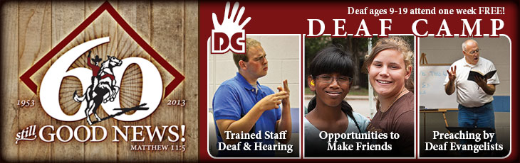 FREE Summer Deaf Camps