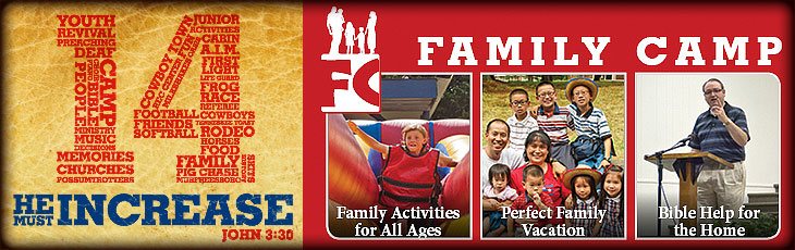 Summer Family Camp Weeks